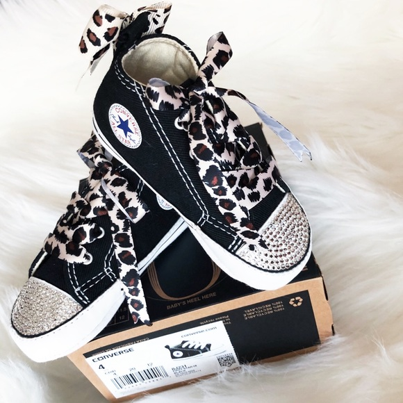 9f3206b4e8cc Custom Bling Chuck Taylor Infant Sneaker Converse